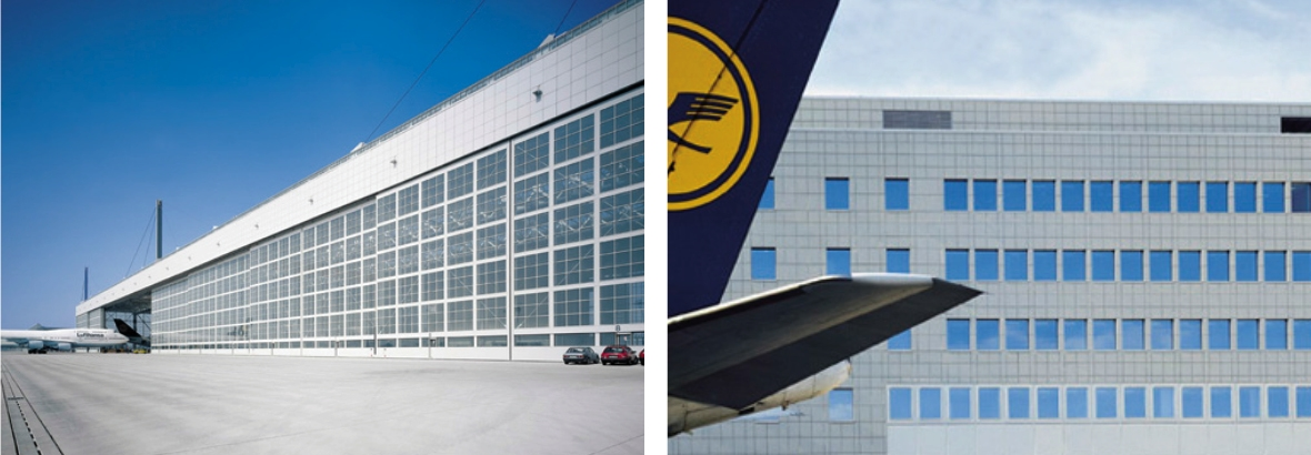 Lufthansa, Munich Airport - Germany | Lufthansa, Frankfurt Airport– Germany